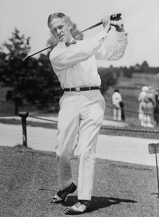 Grand slam golf legend Bobby Jones