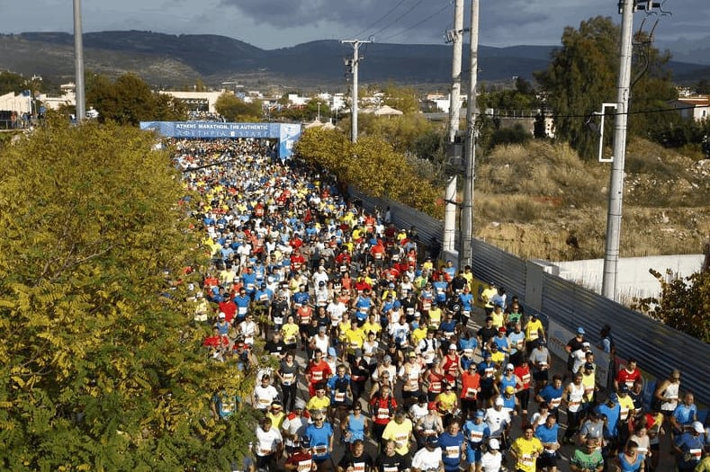 The Athens Authentic Marathon races