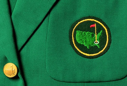 Grand Slam Golf Masters tournament green jacket
