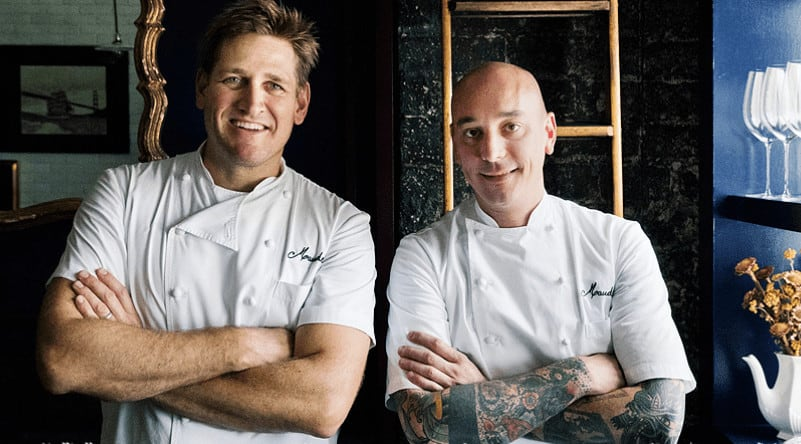 Curtis Stone-celebrity chef at Maude