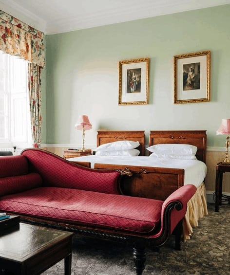 Hotel room at The Culloden House hotel