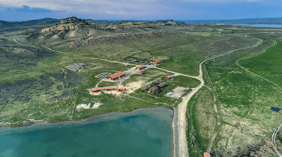 Homes of Presidential candidate Kanye West in Wyoming