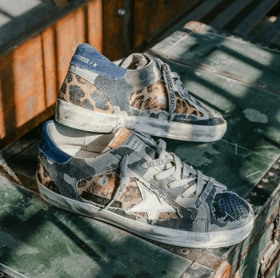 Scruffed up Golden Goose Sneakers