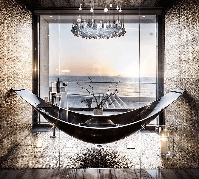 home furnishing hammock bath tub