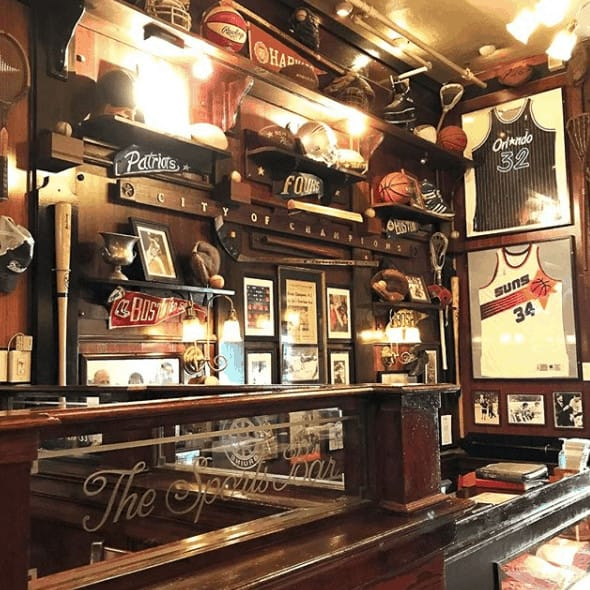 The Fours bar in Boston