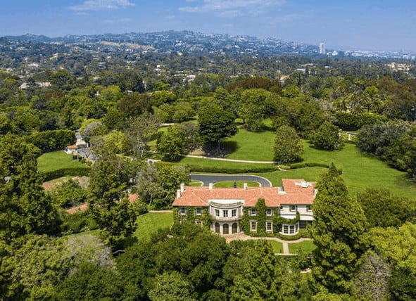 Owlwood estate, one of Los Angeles most expensive homes