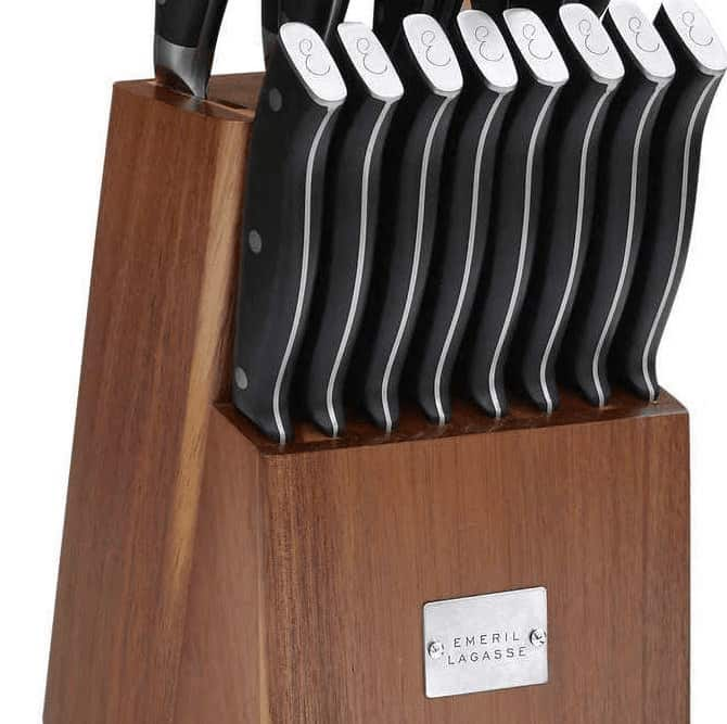 Chef Emeril Lagasse cookware knives
