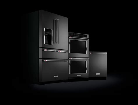 Black stainless steel appliances
