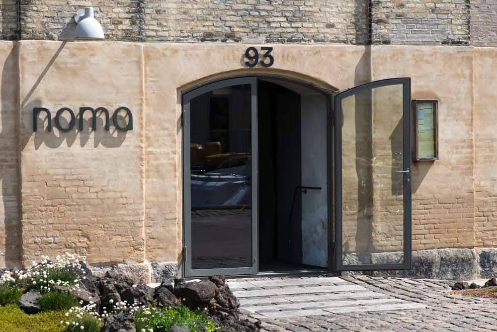 An exterior view of Noma, top restaurants in the world.