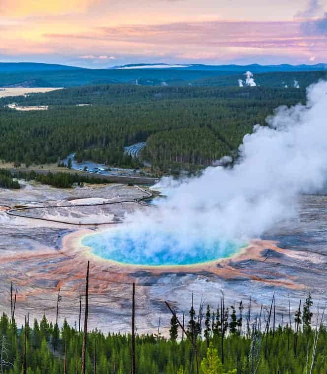 Best off-the-beaten-path places, Midway Geyser Basin