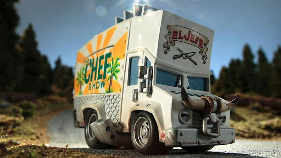Food truck concept for celebrity cooking shows