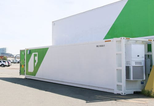 Freight Farms shipping container