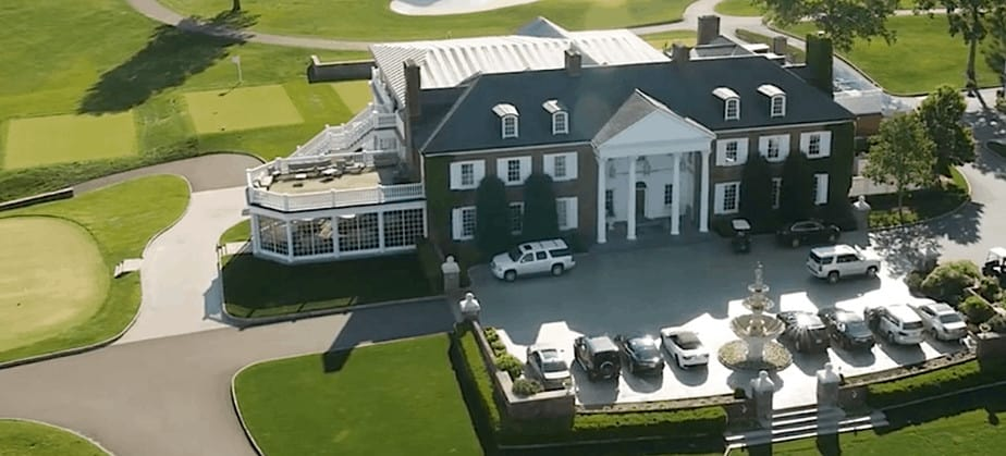Homes of the Presidential candidates- Donald Trump Bedminster Township