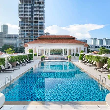 Raffles Hotel swimming pool