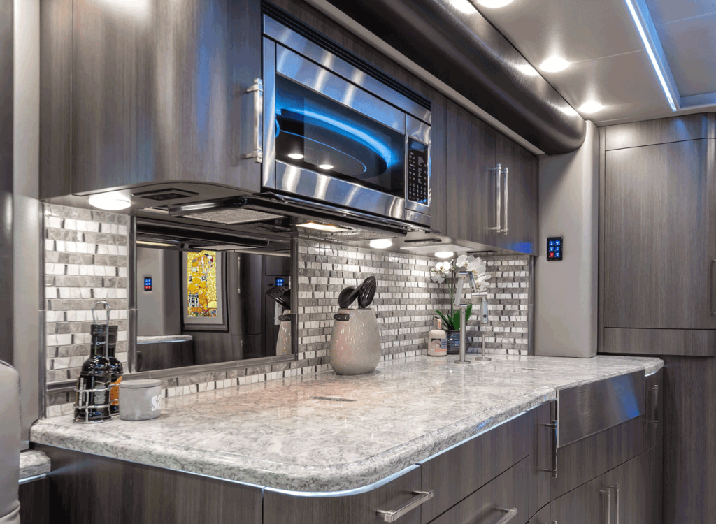 Emperor ESS RV luxury kitchen