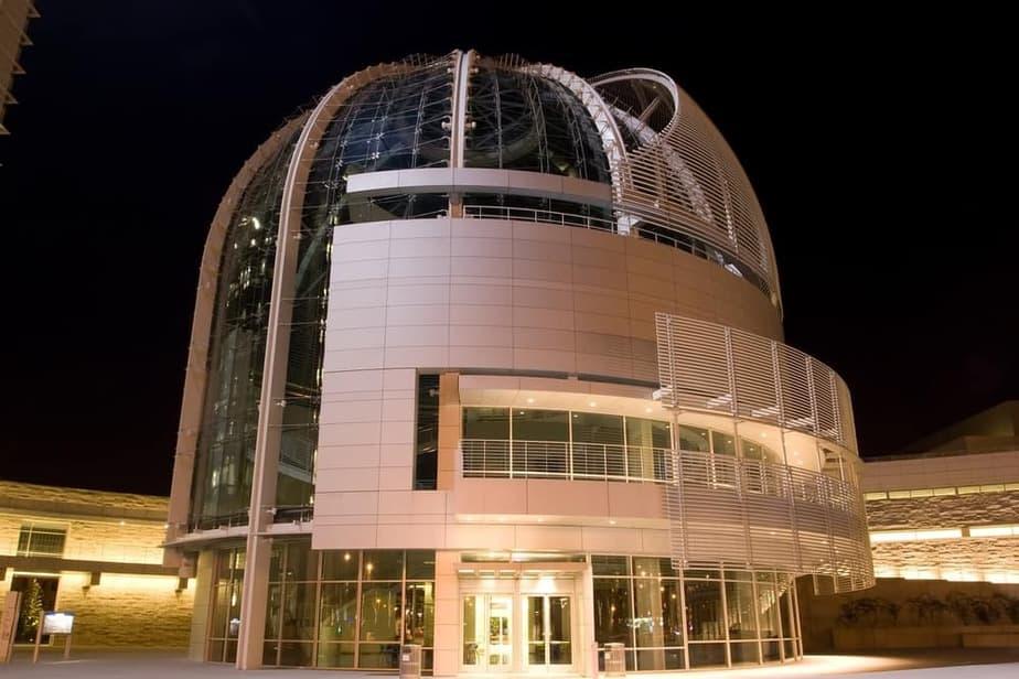 Richard Meier building