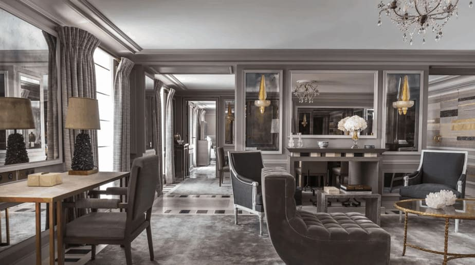 Suite Bernstein at luxury hotel n Paris