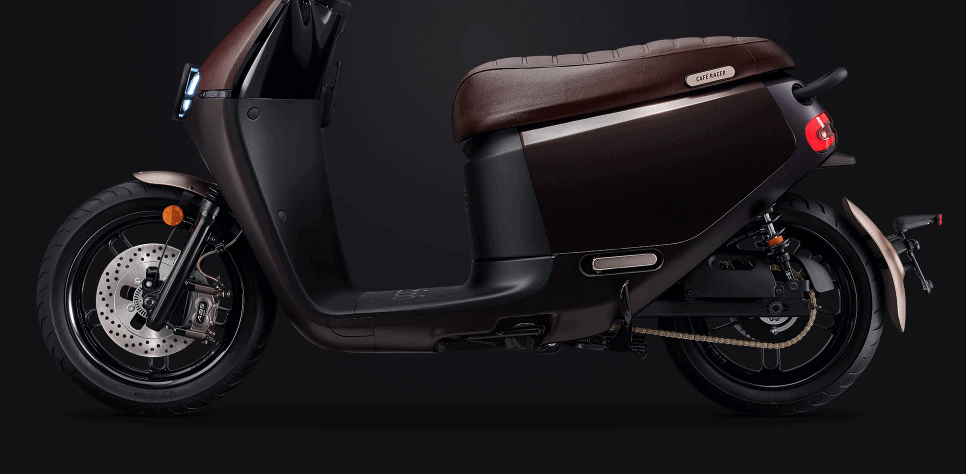 Gogoro scooter is a stylish luxury home accessory