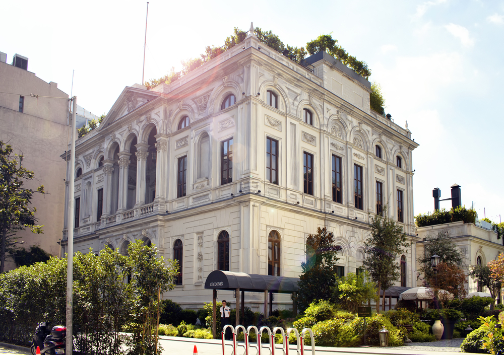 exterior of Soho House Club in Istanbul