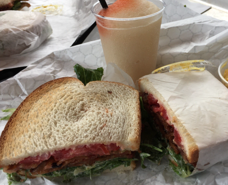 Star Hill Provisions sandwiches