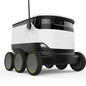 Robot delivery service inspired by covid-19