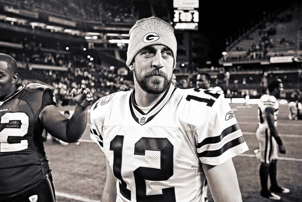 Superbowl Champion Green Bay Packers Quarterback Aaron Rodgers