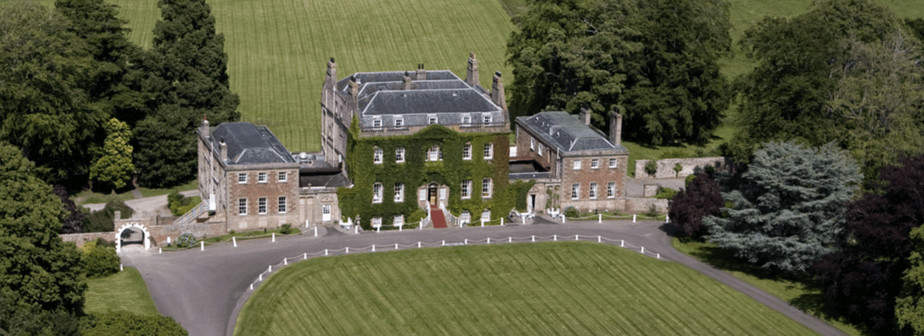 The Culloden House hotel in Scotland