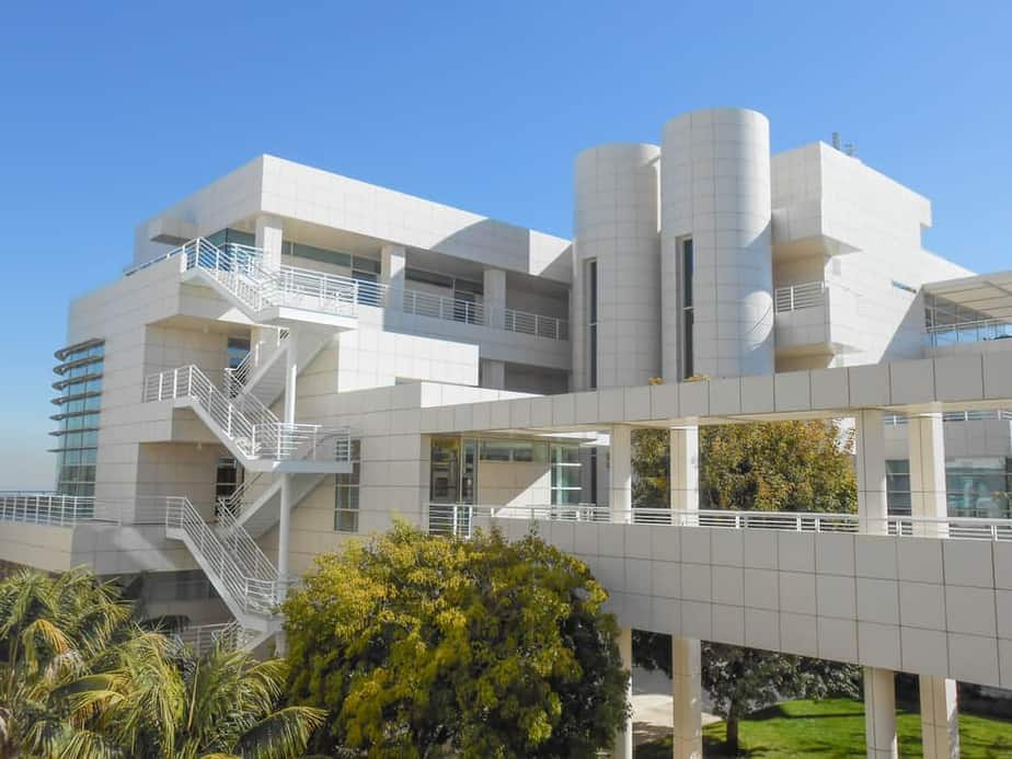 The Getty Center museum in Los Angeles