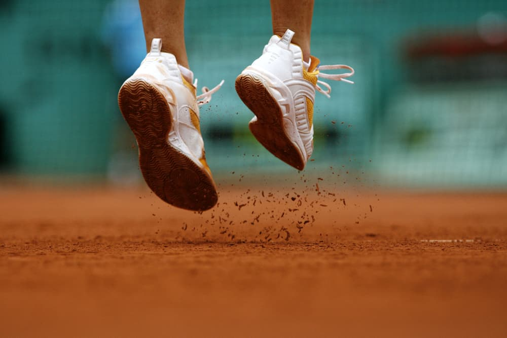 The French Open is currently the only Grand Slam event held on a clay court