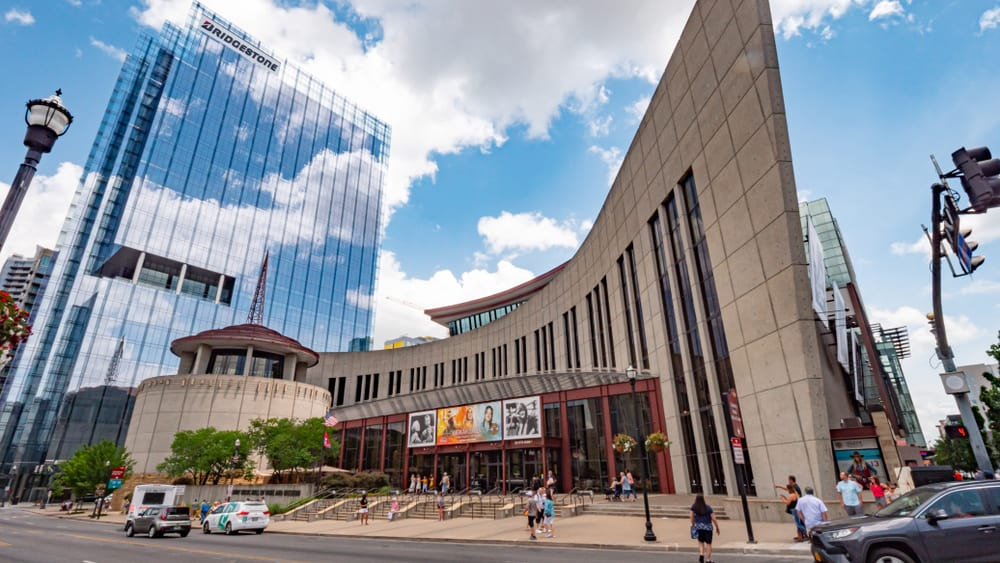 exterior of Country Music hall Of Fame