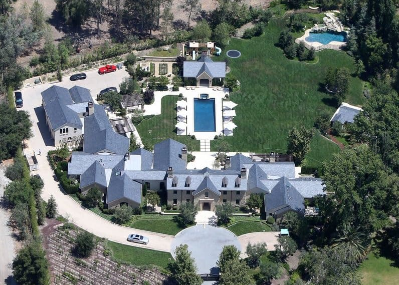 Homes of the Presidential candidates- Kanye West in Hidden Hills