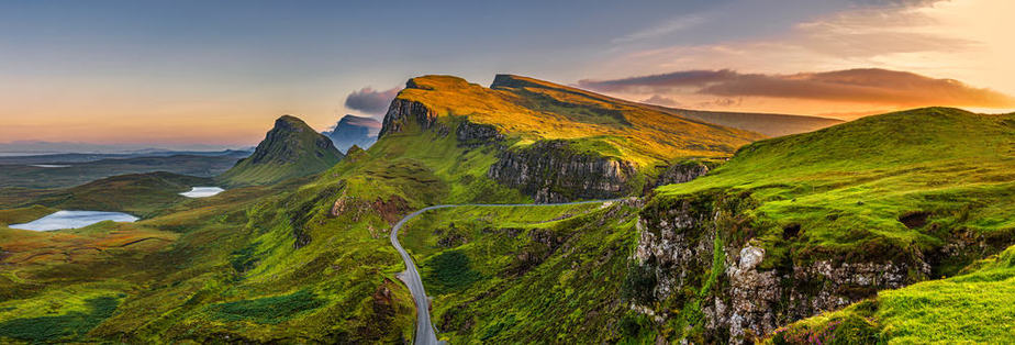 The Highlands of Scotland are absolutely stunning.