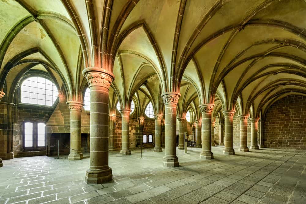 Best places to visit in France-Island monastery