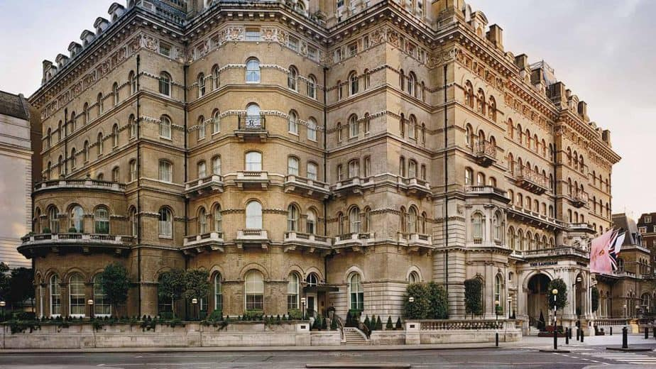 Exterior of The Langham