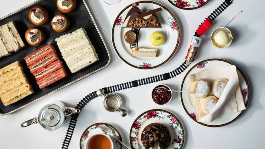 Afternoon tea at The Langham hotel, london