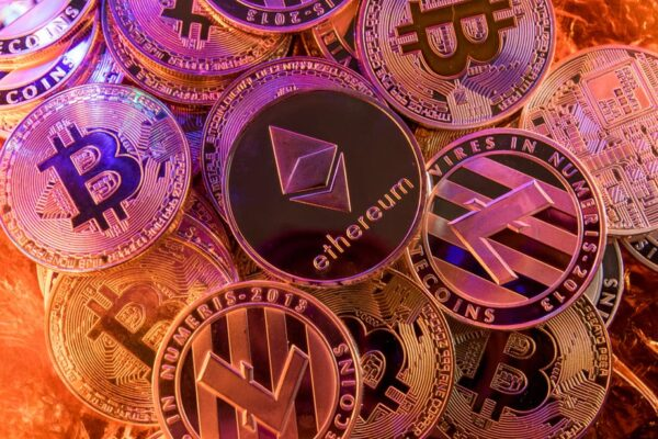 various types of cryptocurrency